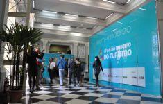 4 Sal�o Mineiro de Turismo - Hall de Entrada