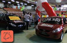 Mega Feir�o Mineirinho 2012 - Jac Motors