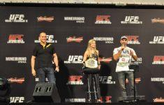 Pesagem UFC 47 BH 14
