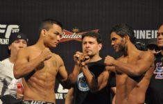 Pesagem UFC 47 BH 25