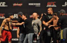 Pesagem UFC 47 BH 30
